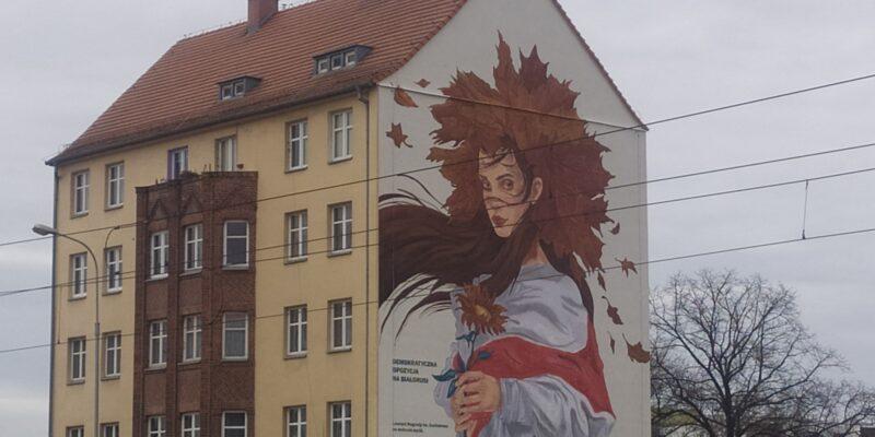 Białoruś Mural Legnicka